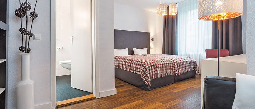 Ganter Hotel Mohren, standard double bedroom, Lake Constance, Germany.jpg